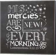His Mercies Are New Fine-Art Print