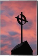 Cross on Roof Top Fine-Art Print