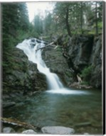 Glacier National Park Waterfall 8 Fine-Art Print