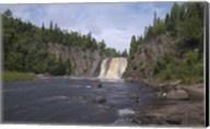 North Shore Waterfall And Lake II Fine-Art Print