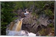 North Shore Waterfall Rapids Fine-Art Print