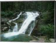 Glacier National Park Waterfall 7 Fine-Art Print