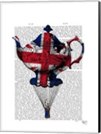 Union Jack Flying Teapot Fine-Art Print