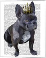 French Bulldog King Fine-Art Print
