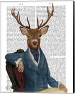 Distinguished Deer Portrait Fine-Art Print