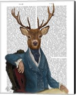 Distinguished Deer Portrait Fine-Art Print