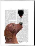 Red Setter Dog Au Vin Fine-Art Print