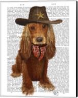 Cocker Spaniel Cowboy Fine-Art Print