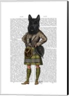 Scottish Terrier in Kilt Fine-Art Print
