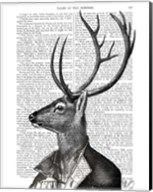 Deer Portrait 2 Fine-Art Print