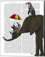 Elephant and Penguin Fine-Art Print