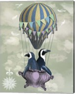 Flying Penguins Fine-Art Print