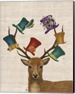 Hat Collector Deer Fine-Art Print