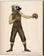Boxing Bulldog Full Fine-Art Print