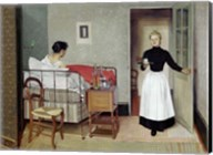 The Sick Patient (Helene Chatenay), 1892 Fine-Art Print