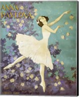 Design for a Poster of Anna Pavlova Gouache Fine-Art Print