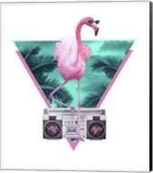 Miami Flamingo Fine-Art Print