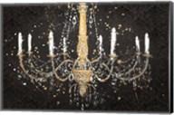 Grand Chandelier Black I Fine-Art Print