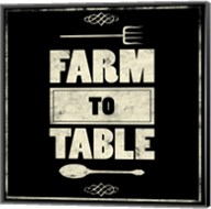 Farm To Table Fine-Art Print