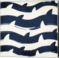 Sharky Waters Fine-Art Print