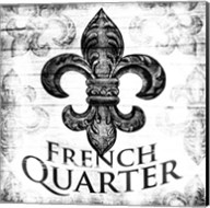 French Quarters BW Fine-Art Print