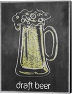 Draft Beer Chalk Fine-Art Print