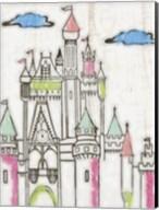 Sketch Castle II Fine-Art Print