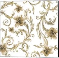 Flair Gold Fine-Art Print