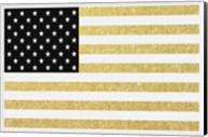 Gold Flag 1 Fine-Art Print