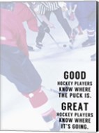 Great Hockey Player Fine-Art Print