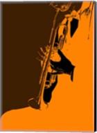 Jazz Orange 2 Fine-Art Print