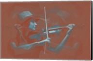 Violinist Brown Fine-Art Print