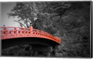 Nikko Red Bridge Fine-Art Print