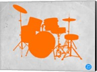 Orange Drum Set Fine-Art Print