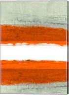 Abstract Stripe Theme White Fine-Art Print