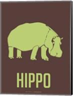 Hippo Green Fine-Art Print