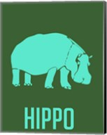 Hippo Blue Fine-Art Print