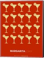Yellow Margaritas Brown Fine-Art Print