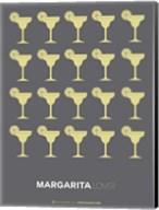 Yellow Margaritas Grey Fine-Art Print