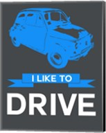 I Like to Drive Beetle 5 Fine-Art Print