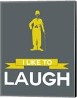 I Like to Laugh 1 Fine-Art Print
