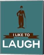 I Like to Laugh 3 Fine-Art Print