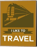 I Like to Travel 1B Fine-Art Print