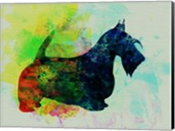 Scottish Terrier Watercolor Fine-Art Print