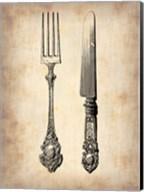 Antique Knife and Fork Fine-Art Print