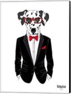 Dalmatian Dog in Tuxedo Fine-Art Print