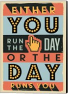 Run The Day Fine-Art Print