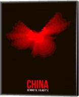 China Radiant Map 1 Fine-Art Print
