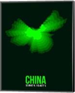 China Radiant Map 3 Fine-Art Print
