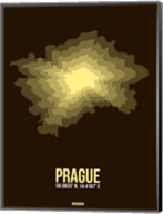 Prague Radiant Map 1 Fine-Art Print